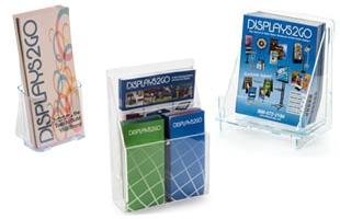 Khay tờ rơi mica (Acrylic Countertop Brochure Holders)