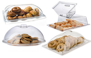 Hộp đựng đồ ăn mica (Acrylic Food Covers & Bakery Display Cases)