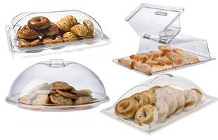 Hộp đựng đồ ăn mica (Acrylic Food Covers & Bakery Display Cases)